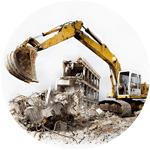 Снос строений и демонтаж конструкций