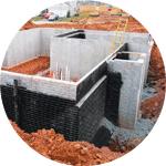 Возведение сооружений способом «стена в грунте»
