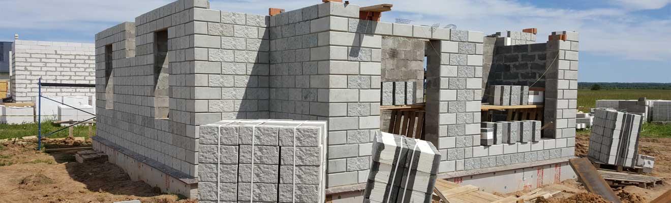 Стена из теплоблока