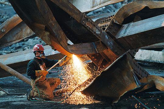 Демонтаж металлических конструкций зданий и сооружений