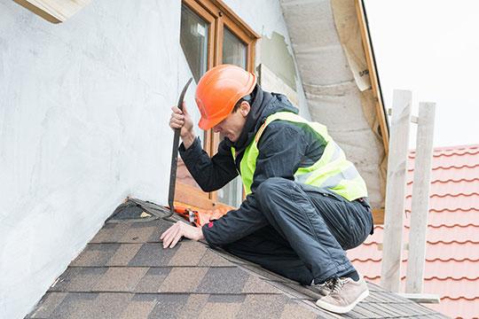 Демонтаж покрытия крыши