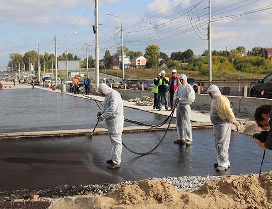 Устройство гидроизоляции мостовых сооружений