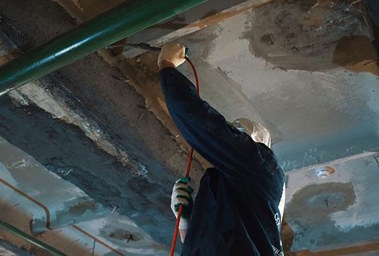Гидроизоляция потолка от протечек сверху