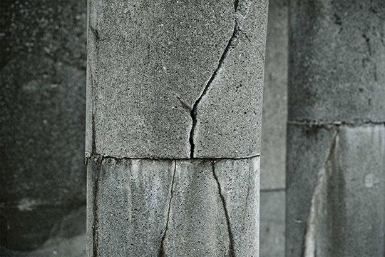 Разрушение бетона химическим способом
