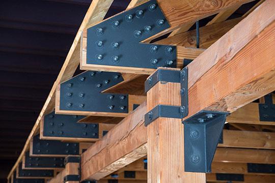 Ремонт и усиление деревянных конструкций зданий и сооружений