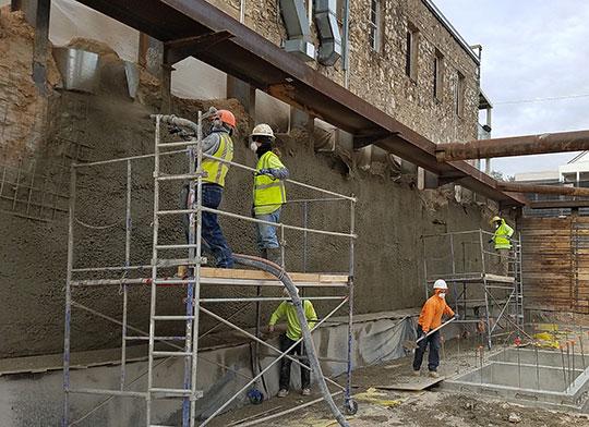 Усиление каменных конструкций зданий и сооружений