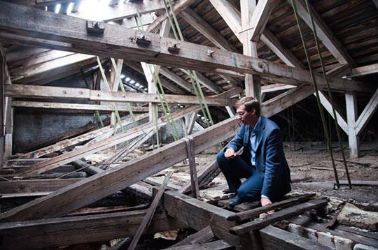 Усиление крыши деревянного дома