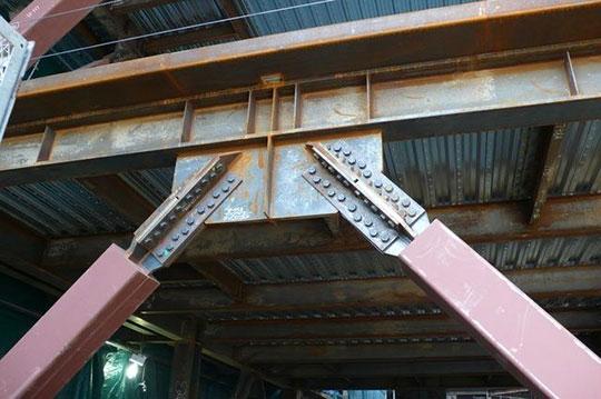 Усиление металлоконструкций при реконструкции