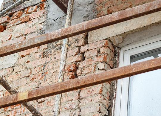 Восстановление каменных конструкций зданий