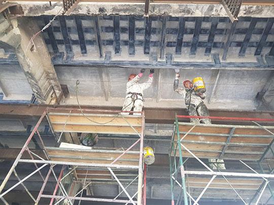 Восстановление железобетонных конструкций зданий и сооружений